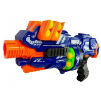 Inlea4Fun BLAZE STORM Dětská pistole s pěnovými kuličkami