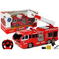 Hasičské auto na dálkové ovládání RC Inlea4Fun FIRE & RESCUE