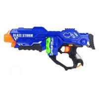 Inlea4Fun BLAZE STORM Dětská pistole s pěnovými kuličkami - modrá