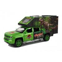 Inlea4Fun DINOSAUR WORLD Auto dinosaurus se světelnými a zvukovými efekty