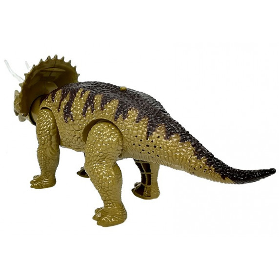 Dinosaurus figurka na baterie - Triceratops Inlea4Fun