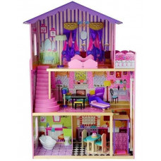 Dřevěný domeček pro panenky Inlea4Fun STELLA Preview