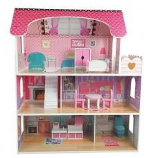 Dřevěný domeček pro panenky Inlea4Fun MILENA Preview