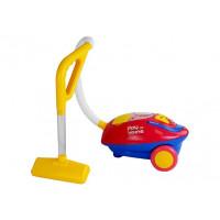 Dětský vysavač Inlea4Fun PLAY AT HOME -  červeno/žlutý