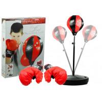 Inlea4Fun PUNCHING BALL - set na trénování boxu