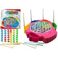 Inlea4Fun angling BABY Dětský rybářský set - Růžový