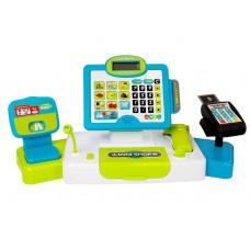Dětská pokladna Inlea4Fun CASH REGISTER - zelená / modrá Preview