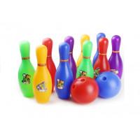 Dětský barevný bowling set Inlea4Fun ENERGESIS