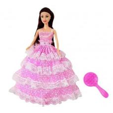 Dlouhovlasá panenka Inlea4Fun BIRTHDAY WISHES 28 cm - s růžovými šaty Preview