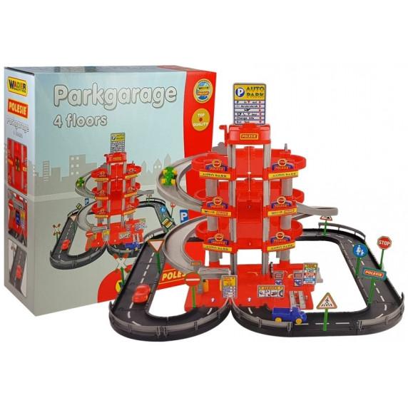 Polesie PARKGARAGE Třípodlažní parkoviště
