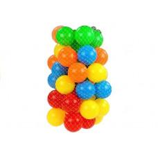 Barevné míčky do bazénu 50 ks Inlea4Fun Preview
