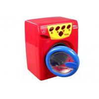 Inlea4Fun PLAY AT HOME Dětská pračka - cervena