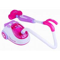 Dětský zvukový vysavač Inlea4Fun LOTS OF FUN - růžový / bílý