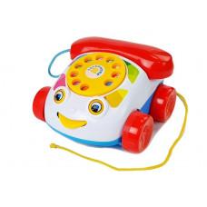 Dětský klasický pevný telefon s kolečky Inlea4Fun PUZZLE PHONE Preview
