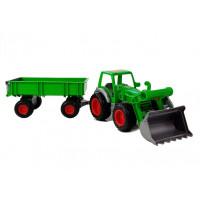 Inlea4Fun FARMER 8817 Dětský traktor s vlečkou