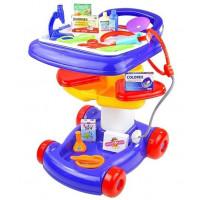 Inlea4Fun dětský lékařský vozík + 27 kusů příslušenství