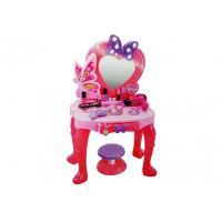Dětský toaletní stolík se zrcadlem Inlea4Fun LITTLE PRINCESS V95808