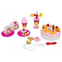 Dětská sada krájecího dortu s doplňky lnea4Fun LUXURY FRUIT CAKE