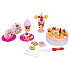 Dětská sada krájecího dortu s doplňky lnea4Fun LUXURY FRUIT CAKE Preview