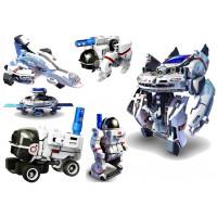 Inlea4Fun BUILD AND LEARN Solární robot 7 v 1