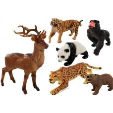 Inlea4Fun ANIMAL WORLD Sada zvířátek - 6 ks Preview