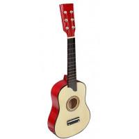 Inlea4Fun Dřevěná kytara - natural