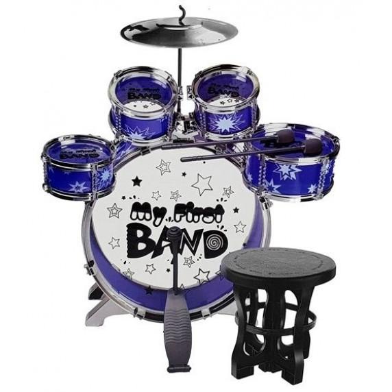 Inlea4Fun MY FIRST BAND Dětské bicí - modré