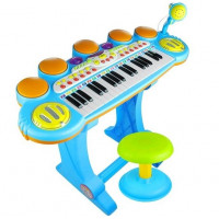 Dětské elektronické klávesy Inlea4Fun LET THE CHILD - růžové
