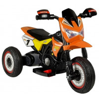 Dětská elektrická tříkolka GTM2288-A oranžová
