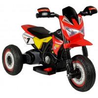 Dětská elektrická tříkolka GTM2288-A červená