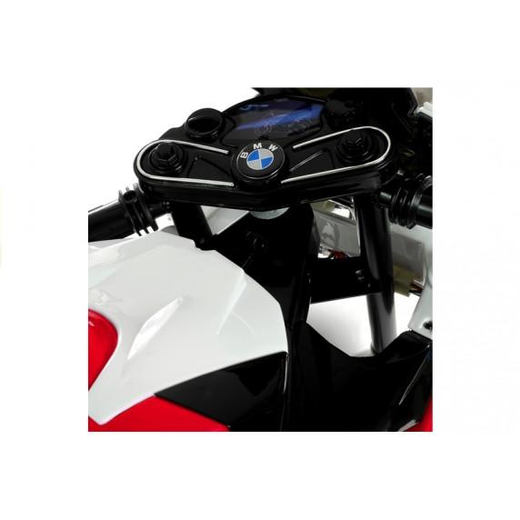 BMW S1000 RR Detská elektrická motorka - červená