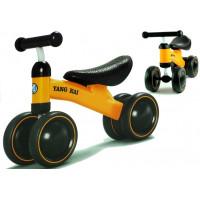 Dětské odrážedlo motorka Inlea4Fun Yang Kai - žluté