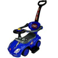 Inlea4Fun Dětské odrážedlo Super Ride 3 v 1 - modré