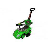 Inlea4Fun Dětské odrážedlo Super Ride 3 v 1 - zelené