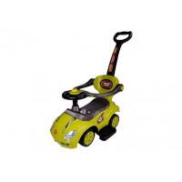 Inlea4Fun Dětské odrážedlo Super Ride 3 v 1 - žluté