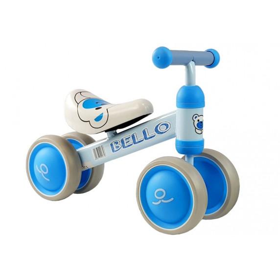 Inlea4Fun Dětské odrážedlo BELLO - modré