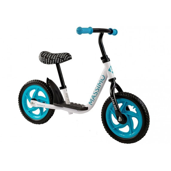 Dětské cykloodrážedlo Inlea4Fun MASSIMO - bílo-modré