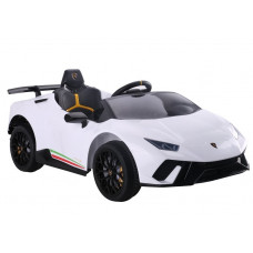 Elektrické autíčko LAMBORGHINI Huracan Inlea4Fun - bílé Preview