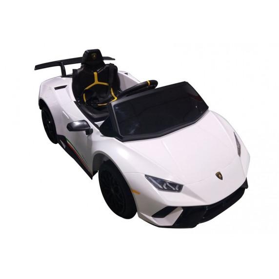 Elektrické autíčko LAMBORGHINI Huracan Inlea4Fun - bílé