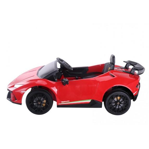 Elektrické autíčko LAMBORGHINI Huracan Inlea4Fun - červené