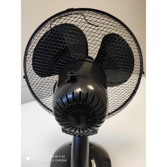 VENTO Domácí ventilátor 40 cm 40 W černý