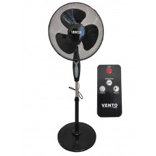 VENTO Domácí ventilátor 40 cm 40 W černý Preview