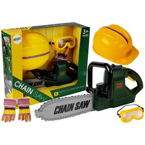 Dětská motorová pila s příslušenstvím Inlea4Fun CHAIN SAW