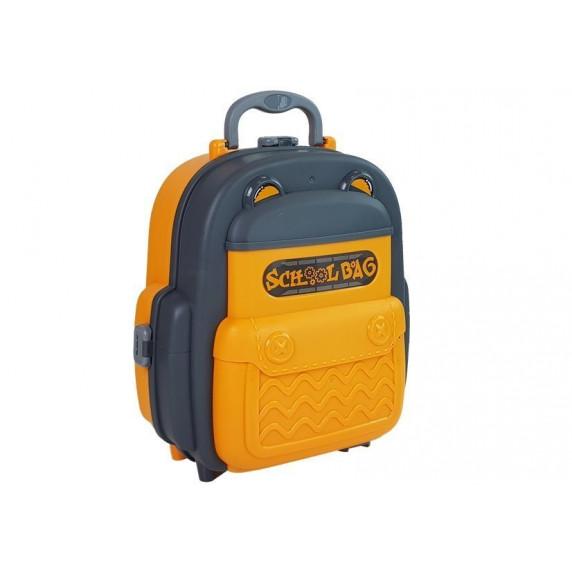 Dětská dílna s nářadím v batohu 2v1 Inlea4Fun SCHOOL BAG