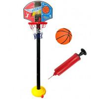 Basketbalový koš s deskou Inlea4Fun SUPER SPORT SET BASKETBALL