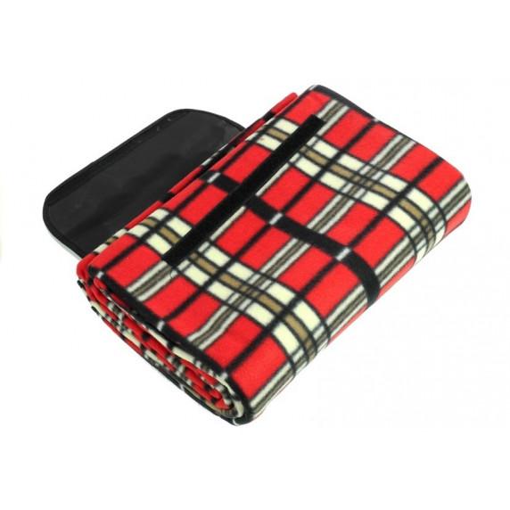 Ingarden Pikniková deka 150x200 cm - červená 2789