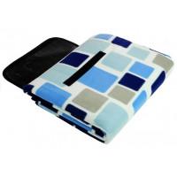 Ingarden Pikniková deka 150x250 cm - modrá 2809