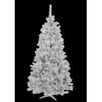 Inlea4Fun bílý vánoční stromeček ELIZA - 180 cm - biela