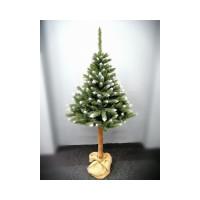 Inlea4Fun Zasněžený vánoční stromek KONRAD 220 cm s kmenem