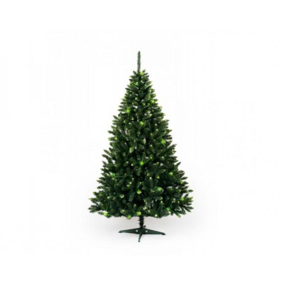 Inlea4Fun Konrad Vánoční stromek Smrk zelená 220cm